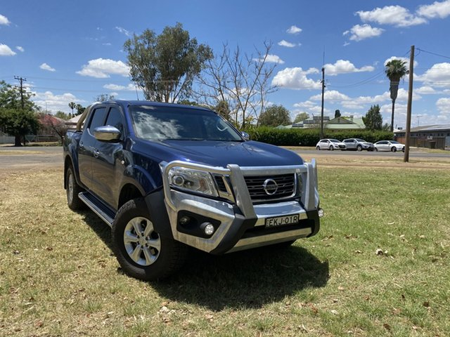 Used Nissan Navara D23 ST Moree, 2015 Nissan Navara D23 ST Blue 7 Speed Sports Automatic Utility