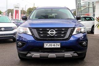 2020 Nissan Pathfinder R52 MY19 Series III ST-L (2WD) N-Trek Special Edtn Caspian Blue.