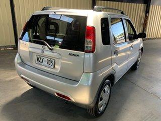2004 Suzuki Ignis GL Silver 5 Speed Manual Hatchback.