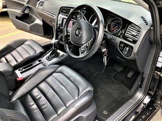 2013 Volkswagen Golf VII MY14 103TSI DSG Highline Black 7 Speed Sports Automatic Dual Clutch