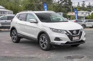 2019 Nissan Qashqai J11 Series 2 ST+ X-tronic Ivory Pearl 1 Speed Constant Variable Wagon