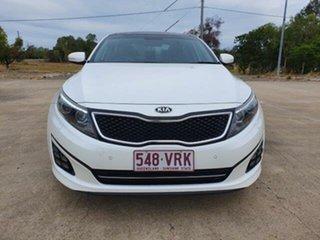 2015 Kia Optima TF MY15 Platinum White 6 Speed Sports Automatic Sedan.