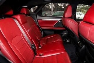 2017 Lexus RX GGL25R RX350 F Sport Silver, Chrome 8 Speed Sports Automatic Wagon