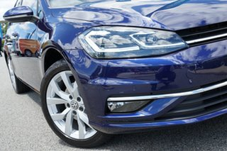 2018 Volkswagen Golf 7.5 MY18 110TSI DSG Highline Blue 7 Speed Sports Automatic Dual Clutch.