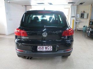 2013 Volkswagen Tiguan 5N MY13.5 155TSI DSG 4MOTION Black 7 Speed Sports Automatic Dual Clutch Wagon