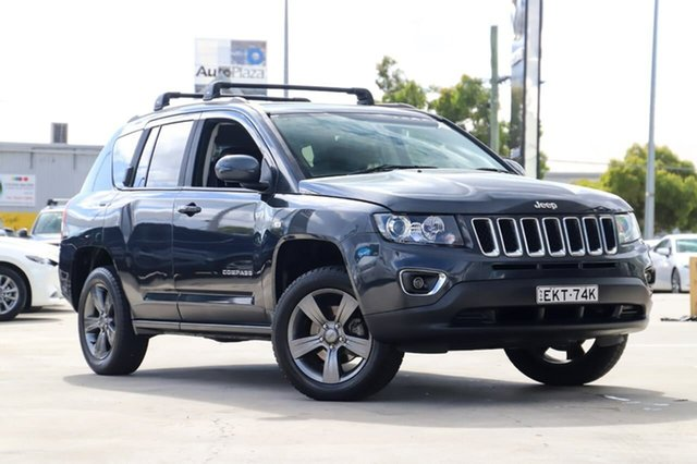 Used Jeep Compass MK MY14 North Kirrawee, 2014 Jeep Compass MK MY14 North Grey 6 Speed Sports Automatic Wagon