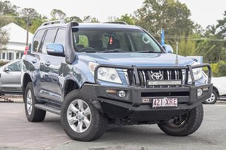 2010 Toyota Landcruiser Prado KDJ150R GXL Blue 5 Speed Sports Automatic Wagon