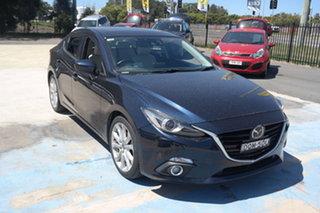 2013 Mazda 3 BM5238 SP25 SKYACTIV-Drive Blue 6 Speed Sports Automatic Sedan.