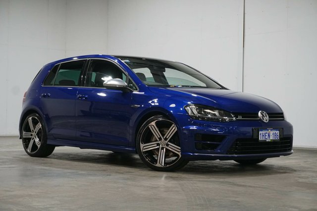 Used Volkswagen Golf VII MY16 R DSG 4MOTION Welshpool, 2015 Volkswagen Golf VII MY16 R DSG 4MOTION Blue 6 Speed Sports Automatic Dual Clutch Hatchback