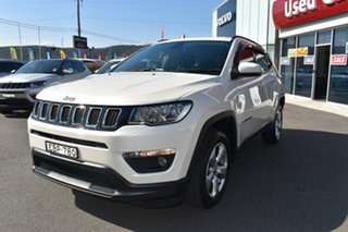 2018 Jeep Compass M6 MY18 Longitude FWD White 6 Speed Automatic Wagon