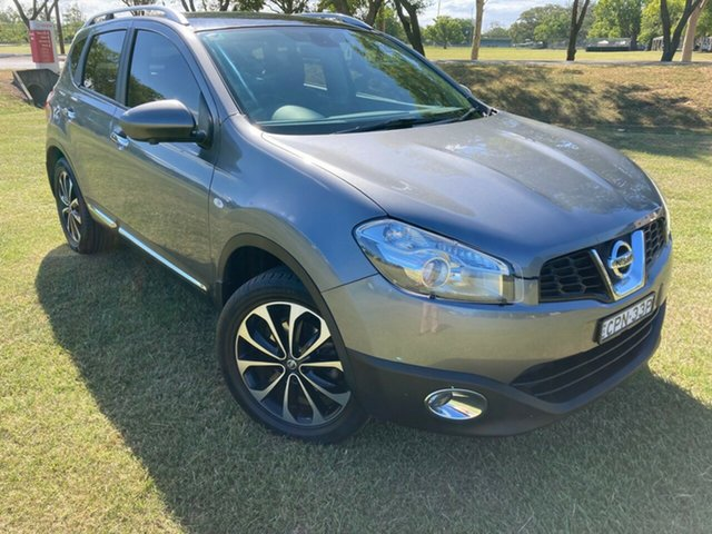 Used Nissan Dualis J10W Series 4 MY13 Ti-L X-tronic AWD South Grafton, 2013 Nissan Dualis J10W Series 4 MY13 Ti-L X-tronic AWD Grey 6 Speed Constant Variable Hatchback