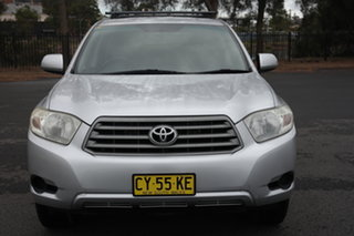 2009 Toyota Kluger GSU40R KX-R 2WD Silver 5 Speed Sports Automatic Wagon.
