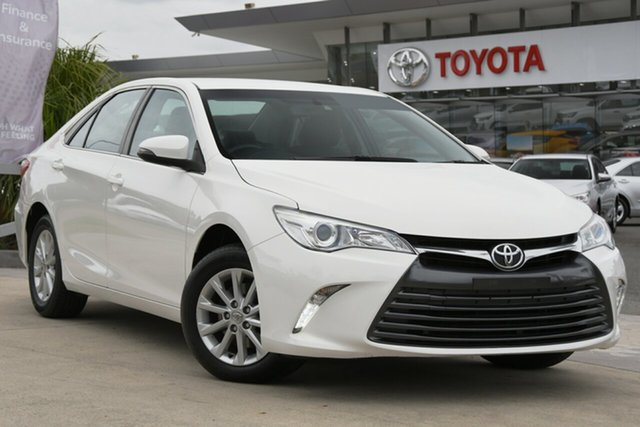 Pre-Owned Toyota Camry ASV50R Altise North Lakes, 2017 Toyota Camry ASV50R Altise Diamond White 6 Speed Sports Automatic Sedan