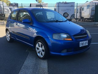 2008 Holden Barina TK MY08 Blue 5 Speed Manual Hatchback.