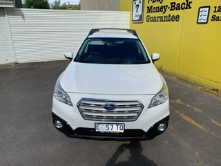 2015 Subaru Outback B6A MY16 2.0D CVT AWD White 7 Speed Constant Variable Wagon.