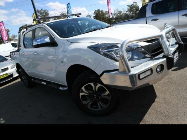 Used Mazda BT-50 MY16 XTR (4x4) Kingswood, 2016 Mazda BT-50 MY16 XTR (4x4) White 6 Speed Manual Dual Cab Utility