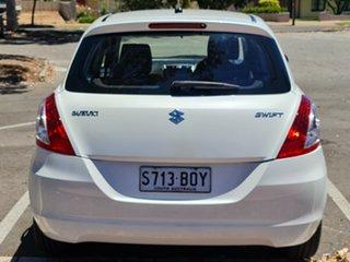 2016 Suzuki Swift FZ MY15 GL Navigator White 4 Speed Automatic Hatchback.