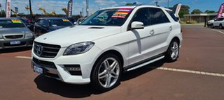 2014 Mercedes-Benz M-Class W166 ML350 BlueTEC 7G-Tronic + White 7 Speed Sports Automatic Wagon