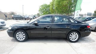 2009 Hyundai Grandeur TG MY09 Black 5 Speed Sports Automatic Sedan