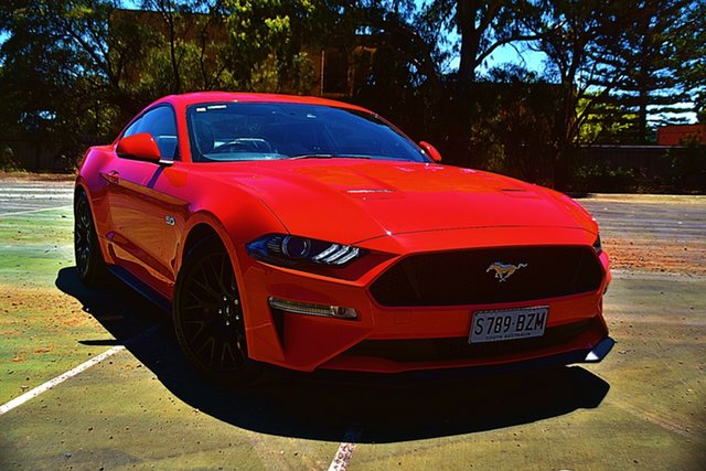 Used Ford Mustang FN 2018MY GT Fastback SelectShift St Marys, 2018 Ford Mustang FN 2018MY GT Fastback SelectShift Red 10 Speed Sports Automatic Fastback