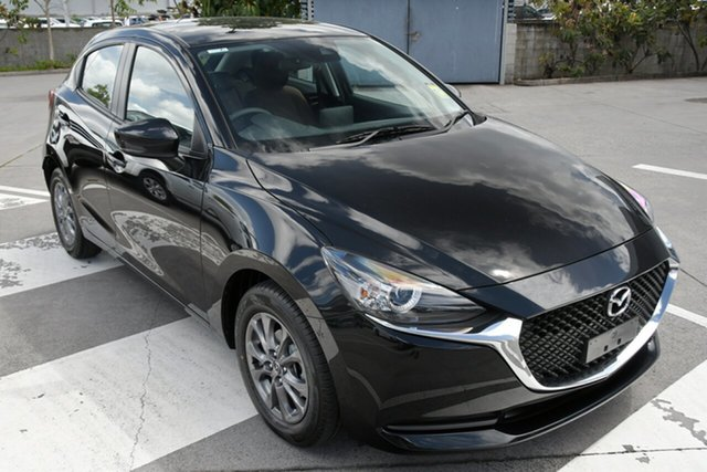 New Mazda 2 DJ2HAA G15 SKYACTIV-Drive Pure North Rockhampton, 2021 Mazda 2 DJ2HAA G15 SKYACTIV-Drive Pure Soul Red Crystal 6 Speed Sports Automatic Hatchback