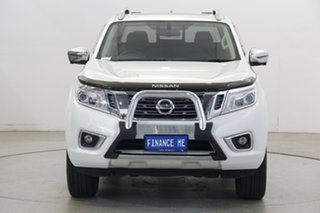 2019 Nissan Navara D23 S3 ST-X White 7 Speed Sports Automatic Utility.