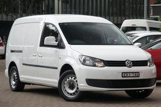 2015 Volkswagen Caddy 2KN MY15 TDI250 BlueMOTION Maxi DSG White 7 Speed Sports Automatic Dual Clutch.