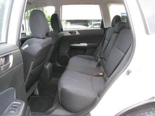 2012 Subaru Forester MY12 X White 5 Speed Manual Wagon