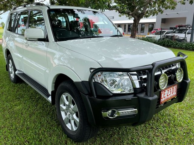 Used Mitsubishi Pajero NX MY20 GLX Winnellie, 2020 Mitsubishi Pajero NX MY20 GLX White 5 Speed Sports Automatic Wagon