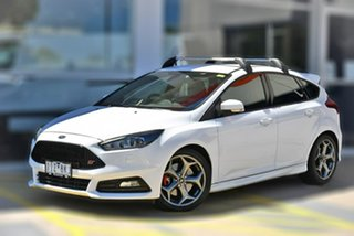 2017 Ford Focus LZ ST White 6 Speed Manual Hatchback.