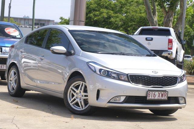 Used Kia Cerato YD MY17 S Toowoomba, 2017 Kia Cerato YD MY17 S Silver 6 Speed Sports Automatic Sedan