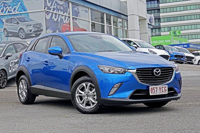 Used Mazda CX-3 DK2W76 Maxx SKYACTIV-MT Springwood, 2018 Mazda CX-3 DK2W76 Maxx SKYACTIV-MT Blue 6 Speed Manual Wagon