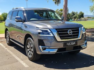 2020 Nissan Patrol Y62 Series 5 MY20 TI-L Gun Metallic 7 Speed Sports Automatic Wagon.