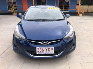 2012 Hyundai Elantra MD2 Active Blue 6 Speed Sports Automatic Sedan.