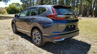 2020 Honda CR-V RW MY21 VTi FWD X Cosmic Blue 1 Speed Automatic Wagon