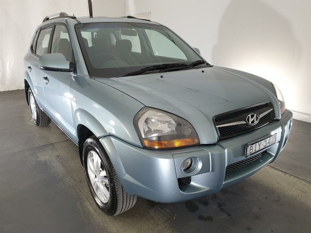 Used Hyundai Tucson JM MY07 City SX Maryville, 2008 Hyundai Tucson JM MY07 City SX Silver 5 Speed Manual Wagon