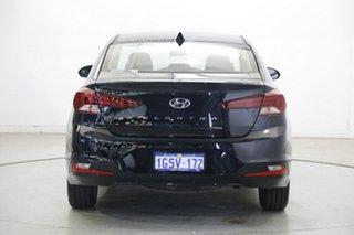 2018 Hyundai Elantra AD.2 MY19 Active Phantom Black 6 Speed Sports Automatic Sedan