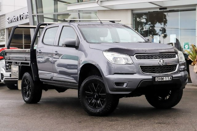 Used Holden Colorado RG MY16 LS Crew Cab Sutherland, 2016 Holden Colorado RG MY16 LS Crew Cab Grey 6 Speed Manual Cab Chassis