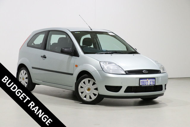 Used Ford Fiesta WP LX Bentley, 2004 Ford Fiesta WP LX Green 4 Speed Automatic Hatchback