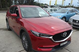 2017 Mazda CX-5 KE1032 Maxx SKYACTIV-Drive i-ACTIV AWD Sport Red 6 Speed Sports Automatic Wagon.