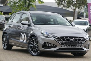 2021 Hyundai i30 PD.V4 MY21 Active Phantom Black 6 Speed Automatic Hatchback.
