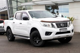 2016 Nissan Navara D23 S2 SL White 6 Speed Manual Utility.