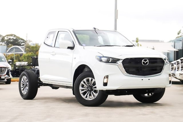 New Mazda BT-50 B30B XT (4x4) Kirrawee, 2020 Mazda BT-50 B30B XT (4x4) Ice White 6 Speed Automatic Freestyle Cab Chassis