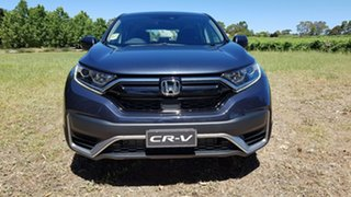 2020 Honda CR-V RW MY21 VTi FWD X Cosmic Blue 1 Speed Automatic Wagon.
