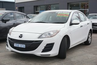 2010 Mazda 3 BL10F1 Neo Activematic White 5 Speed Sports Automatic Hatchback.