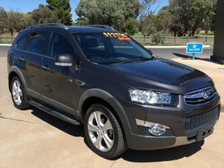 2013 Holden Captiva CG Series II MY12 7 AWD LX Smoke Grey 6 Speed Sports Automatic Wagon.