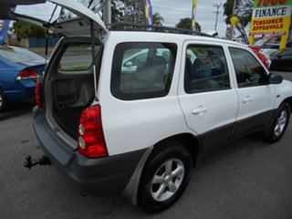 2005 Mazda Tribute MY2004 Limited Sport White 4 Speed Automatic Wagon