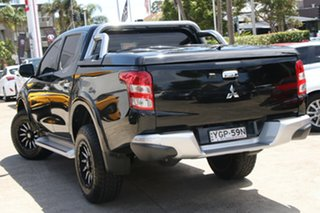 2017 Mitsubishi Triton MQ MY17 GLS (4x4) Grey 6 Speed Manual Dual Cab Utility.