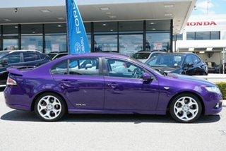 2011 Ford Falcon FG XR6 Turbo Purple 6 Speed Sports Automatic Sedan