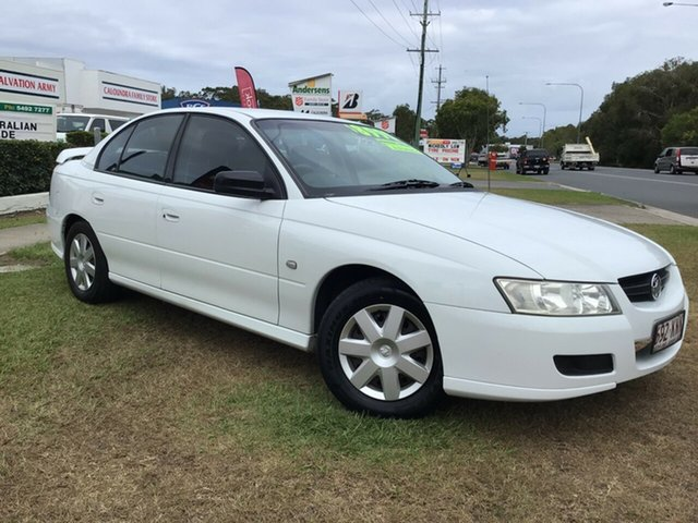 Used Holden Commodore VZ MY06 Executive Caloundra, 2006 Holden Commodore VZ MY06 Executive White 4 Speed Automatic Sedan